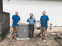 Business donates heating and AC unit to nonprofit